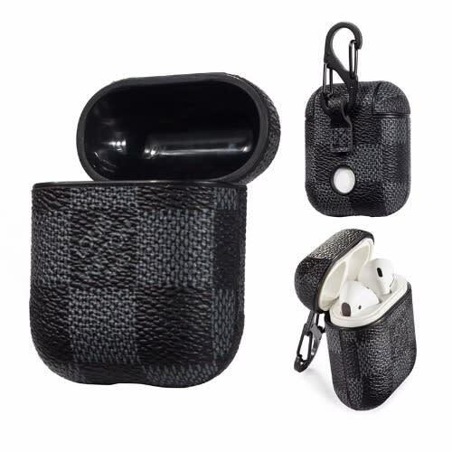 Louis Vuitton Supreme Airpods 1/2 Case-black | Kriz Communication